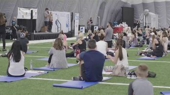 Coca-Cola Consolidated TV Spot, 'Heartest Yard Fit Fest' Featuring Greg Olsen - Thumbnail 3