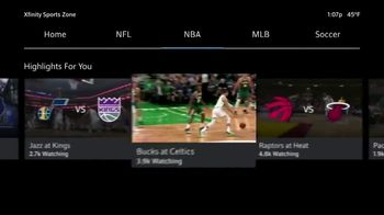 XFINITY NBA League Pass TV Spot, 'Out of Market Games: $49.75' - Thumbnail 3