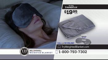 Bell + Howell Weighted Blanket TV Spot, 'Wrapped in Soothing Comfort' - Thumbnail 10