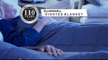 Bell + Howell Weighted Blanket TV Spot, 'Wrapped in Soothing Comfort' - Thumbnail 3