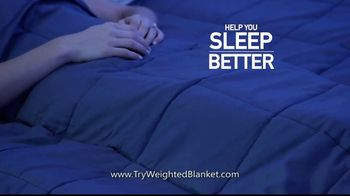 Bell + Howell Weighted Blanket TV Spot, 'Wrapped in Soothing Comfort' - Thumbnail 4