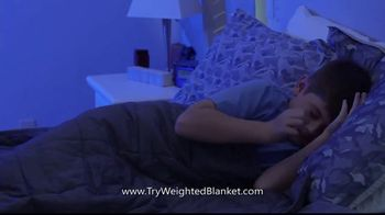 Bell + Howell Weighted Blanket TV Spot, 'Wrapped in Soothing Comfort' - Thumbnail 6