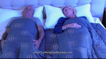 Bell + Howell Weighted Blanket TV Spot, 'Wrapped in Soothing Comfort'