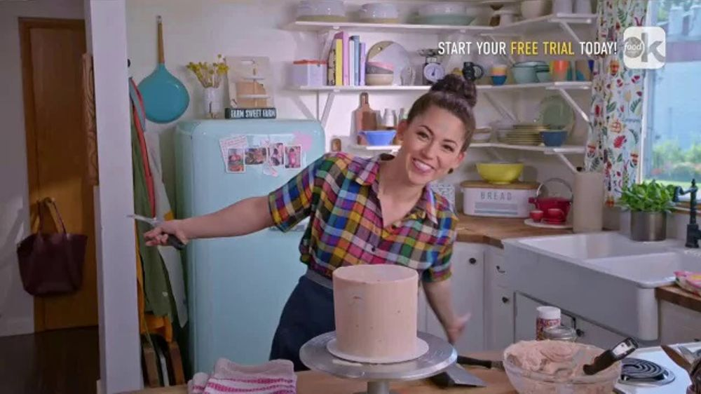 Food Network Kitchen App Tv Commercial Molly S Layer Cake Frosting Ispot Tv