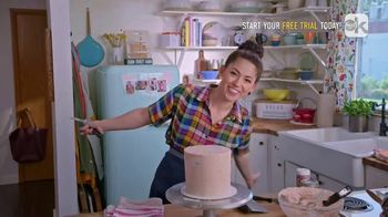 Food Network Kitchen App TV Spot, 'Molly's Layer Cake: Frosting'