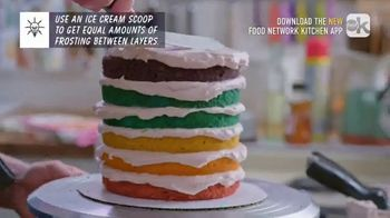 Food Network Kitchen App TV Spot, 'Molly's Layer Cake: Frosting' - Thumbnail 4