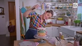 Food Network Kitchen App TV Spot, 'Molly's Layer Cake: Frosting' - Thumbnail 5