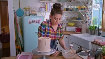 Food Network Kitchen App TV Spot, 'Molly's Layer Cake: Frosting' - Thumbnail 6