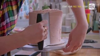 Food Network Kitchen App TV Spot, 'Molly's Layer Cake: Frosting' - Thumbnail 7
