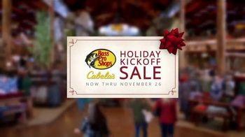 Bass Pro Shops Holiday Kickoff Sale TV Spot, 'Fleece Pullover, Jacket and Bag' - 644 commercial airings