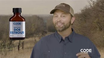 Code Blue Doe Estrous TV Spot, 'Know it Works' Featuring Michael Waddell - 19 commercial airings