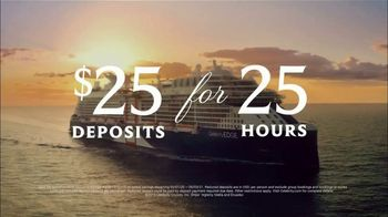 Celebrity Cruises TV Spot, 'Wonder Awaits: 25 Hours' Song by Jefferson Airplane - Thumbnail 10