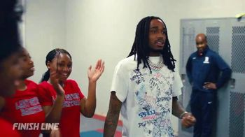 Finish Line TV Spot, 'Berkmar Giveback' Featuring Quavo - 1 commercial airings