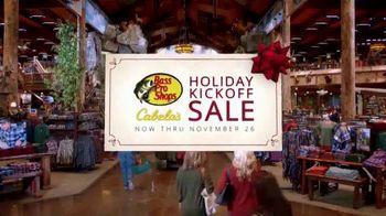 Bass Pro Shops Holiday Kickoff Sale TV Spot, 'Backyard Throw and Tackle Bag'