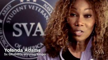 Student Veterans of America TV Spot, 'Veterans Day' Ft. Post Malone, Ne-Yo, Dionne Warwick and MKTO - Thumbnail 3
