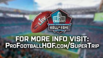 Pro Football Hall of Fame Super Trip Sweepstakes TV Spot, '2020 Super Bowl' - Thumbnail 9