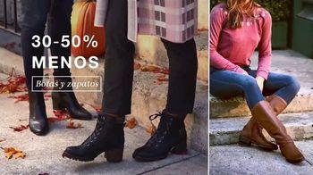 Macy's La Venta de 48 Horas TV Spot, 'Estilos de otoño: abrigos, botas, zapatos y Ninja Foodi' [Spanish] - Thumbnail 4