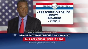 Medicare Coverage Options TV Spot, 'Fall Open Enrollment' - Thumbnail 4
