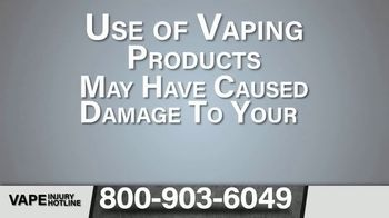 Greg Jones Law TV Spot, 'E-Cigarettes: Health Issues' - Thumbnail 3