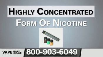 Greg Jones Law TV Spot, 'E-Cigarettes: Health Issues' - Thumbnail 6