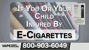 Greg Jones Law TV Spot, 'E-Cigarettes: Health Issues' - Thumbnail 7
