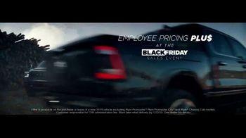 Ram Trucks Black Friday Sales Event TV Spot, 'Employee Pricing' [T1] - Thumbnail 2
