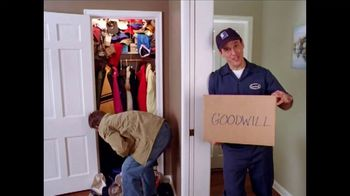 Goodwill TV Spot, 'Goodwill Guy: Hat Avalanche'