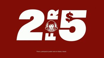 Wendy's 2 for $5 TV Spot, '¡Un 2 for $5 bien hecho!' [Spanish] - Thumbnail 3