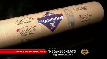 Big Time Bats TV Spot, 'Washington Nationals: World Series Winners'