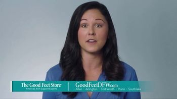 The Good Feet Store TV Spot, 'Feel Better: Free Fitting'