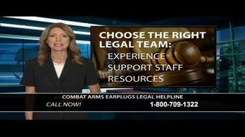 Dunken Law Group PLLC TV Spot, 'Combat Arms Earplugs' - Thumbnail 7