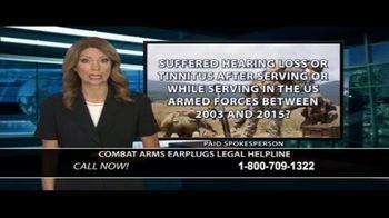 Dunken Law Group PLLC TV Spot, 'Combat Arms Earplugs' - Thumbnail 2