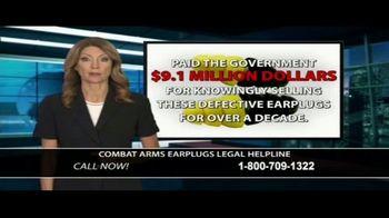 Dunken Law Group PLLC TV Spot, 'Combat Arms Earplugs' - Thumbnail 4