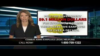 Dunken Law Group PLLC TV Spot, 'Combat Arms Earplugs' - Thumbnail 5