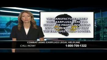 Dunken Law Group PLLC TV Spot, 'Combat Arms Earplugs' - Thumbnail 6