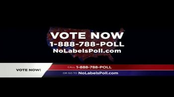 No Labels TV Spot, 'Poll' - 15 commercial airings