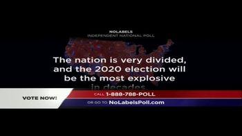 No Labels TV Spot, 'Poll' - Thumbnail 1