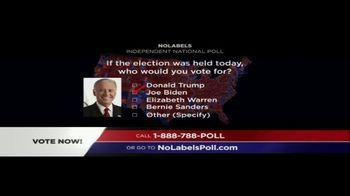 No Labels TV Spot, 'Poll' - Thumbnail 4