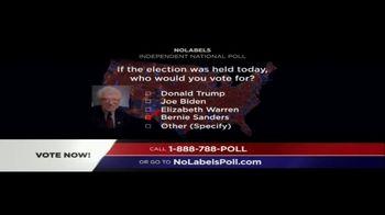 No Labels TV Spot, 'Poll' - Thumbnail 5