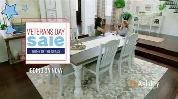 Ashley HomeStore Veterans Day Sale TV Spot, 'Up to $1,000 Off and Five Percent Off with New Account' - Thumbnail 2
