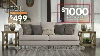 Ashley HomeStore Veterans Day Sale TV Spot, 'Up to $1,000 Off and Five Percent Off with New Account' - Thumbnail 3