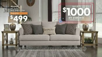 Ashley HomeStore Veterans Day Sale TV Spot, 'Up to $1,000 Off and Five Percent Off with New Account' - Thumbnail 4