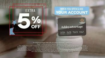 Ashley HomeStore Veterans Day Sale TV Spot, 'Up to $1,000 Off and Five Percent Off with New Account' - Thumbnail 6