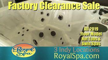 Royal Spa Factory Clearance Sale TV Spot, 'Customize' - Thumbnail 5