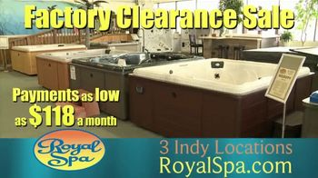 Royal Spa Factory Clearance Sale TV Spot, 'Customize' - Thumbnail 6