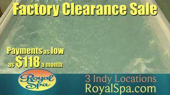 Royal Spa Factory Clearance Sale TV Spot, 'Customize' - Thumbnail 7