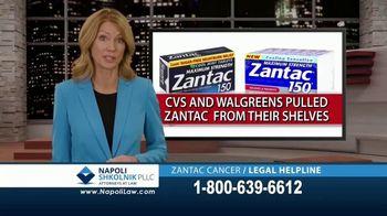 Napoli Shkolnik PLLC TV Spot, 'Zantac: Cancer Causing Chemical'