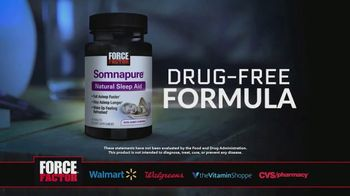 Force Factor Somnapure Natural Sleep Aid TV Spot, 'Some Work Like This' - Thumbnail 3