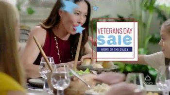 Ashley HomeStore Veterans Day Sale TV Spot, 'Honoring Our Veterans' Song by Midnight Riot - Thumbnail 3