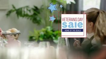Ashley HomeStore Veterans Day Sale TV Spot, 'Honoring Our Veterans' Song by Midnight Riot - Thumbnail 4